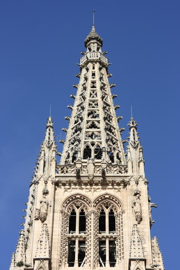 Burgos cathedral royalty free stock image