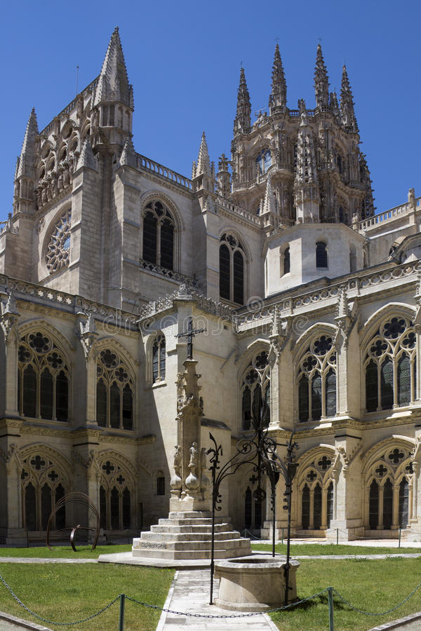Download Burgos Cathedral Cloisters - Spain Stock Photo - Image: 26588400
