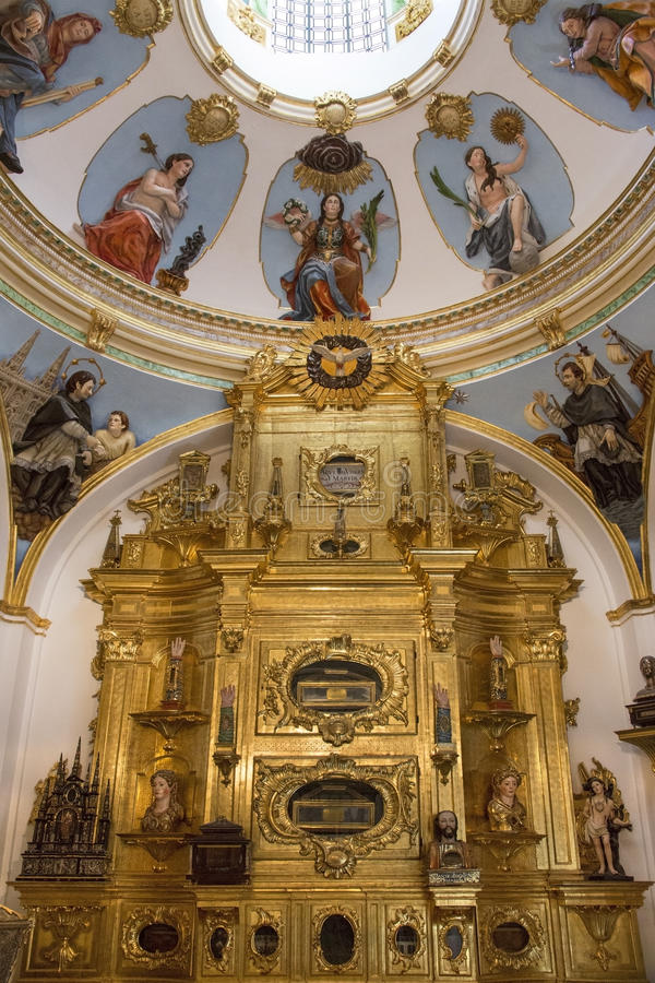 Download Burgos Cathedral Interior - Spain Stock Photo - Image of religion, church: 26588002
