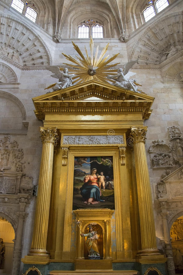 Download Burgos Cathedral - Spain editorial stock photo. Image of sacred - 26588293