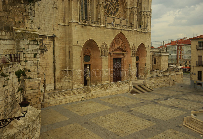 Burgos-Kathedrale 03 lizenzfreie stockbilder