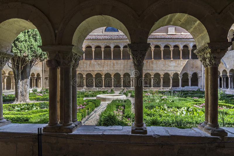 Burgos monaster silosy fotografia stock