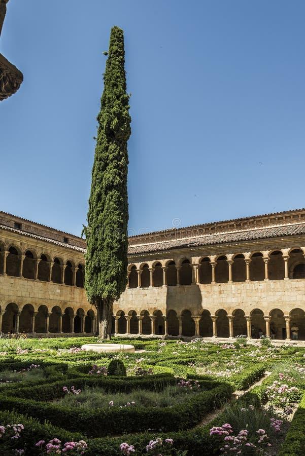 Burgos monaster silosy zdjęcia stock