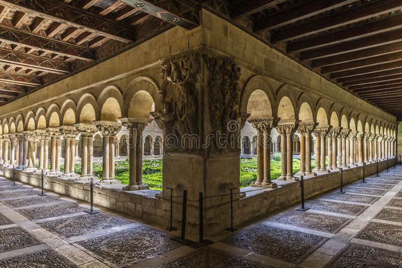 Burgos monaster silosy obraz stock