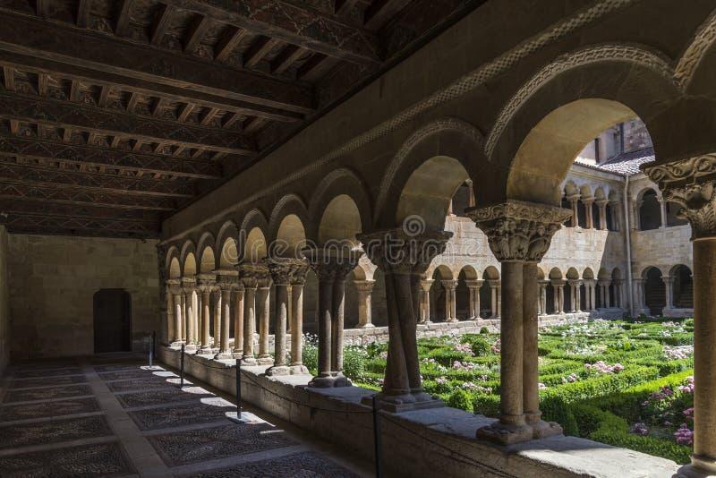 Burgos monaster silosy obrazy royalty free
