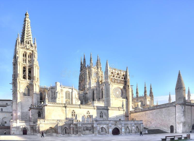 Burgos vår domkyrkalady arkivbild