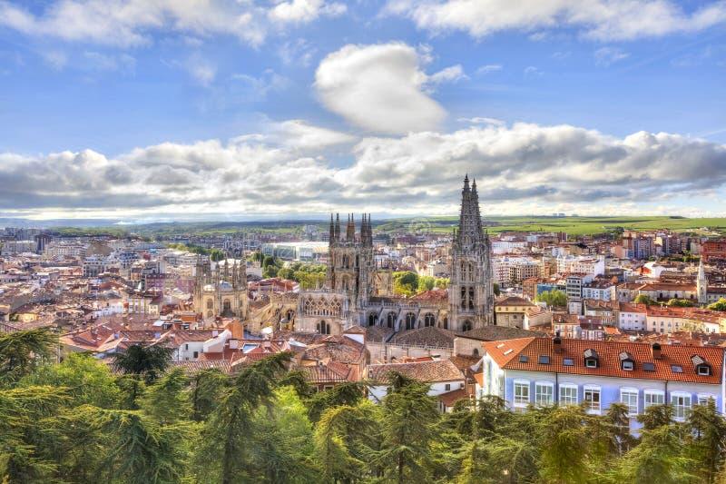 Burgos vår domkyrkalady arkivfoto