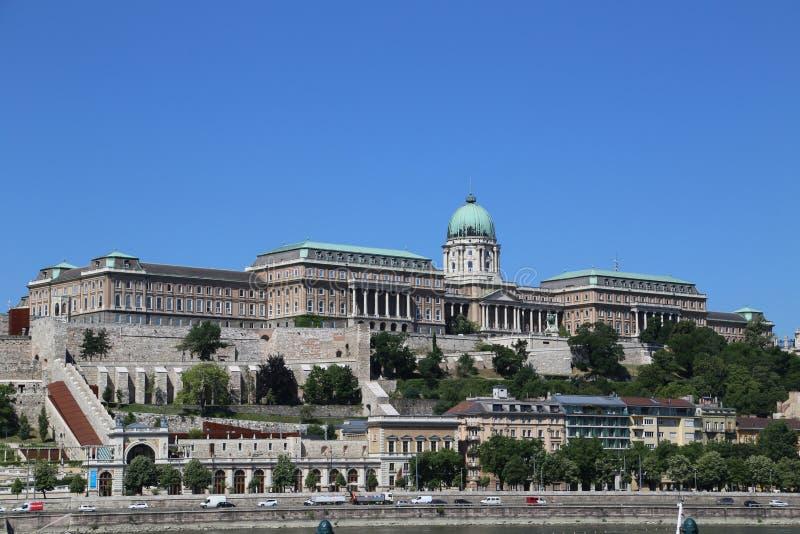 Burgpalast Budapest imagens de stock