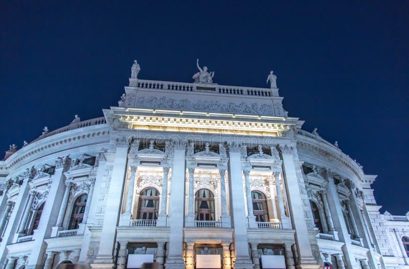 Burgtheater, Vienna immagini stock libere da diritti