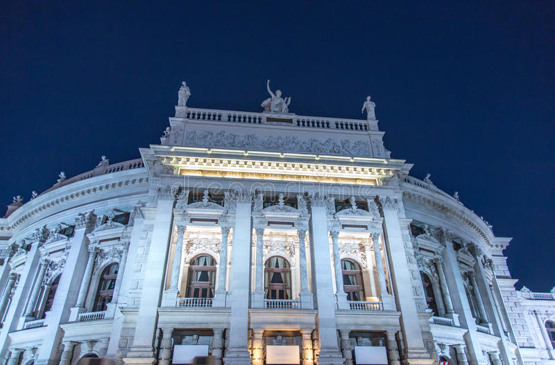 Burgtheater, Vienna royalty free stock images