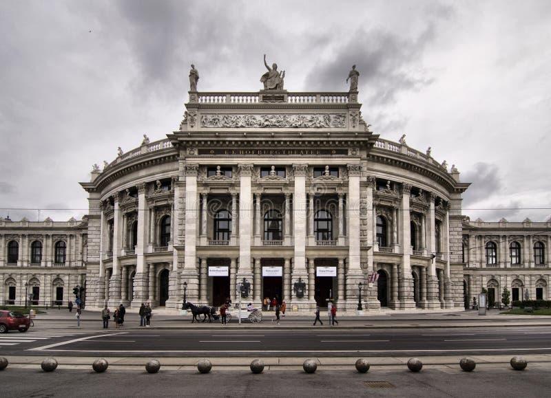 Burgtheateren av Wien i Österrike arkivfoto