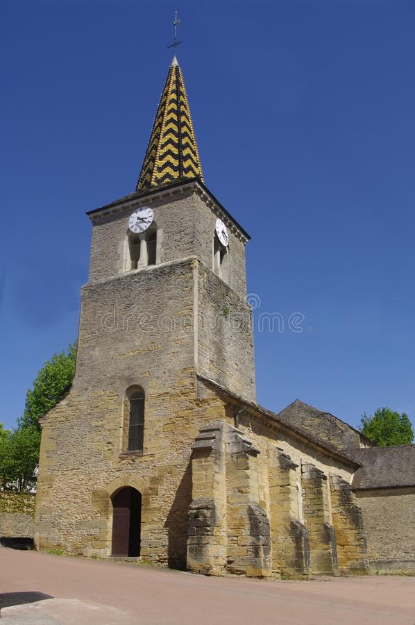 Burgundy Church royalty free stock photography