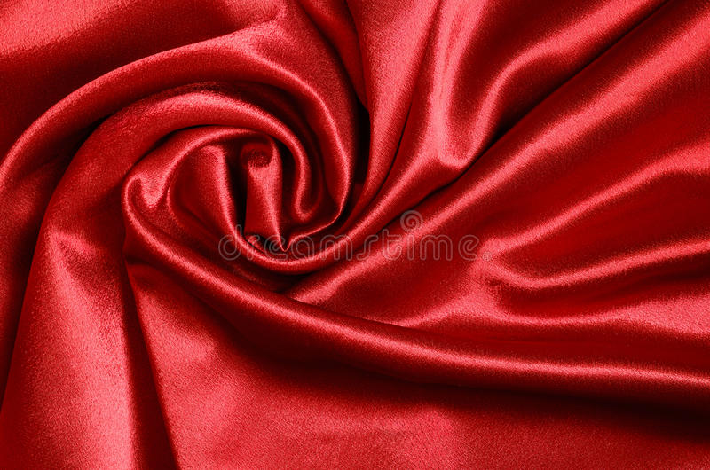 Burgundy draped satin royalty free stock photography