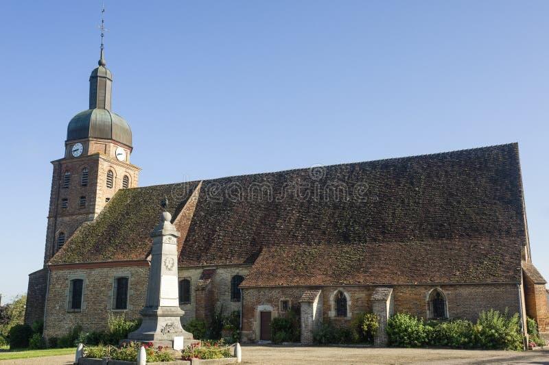 burgundy kościelny France świętego usuge zdjęcia royalty free