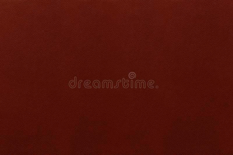 Burgundy Leather Texture. Photo. Lather Imitation Material Background royalty free stock image