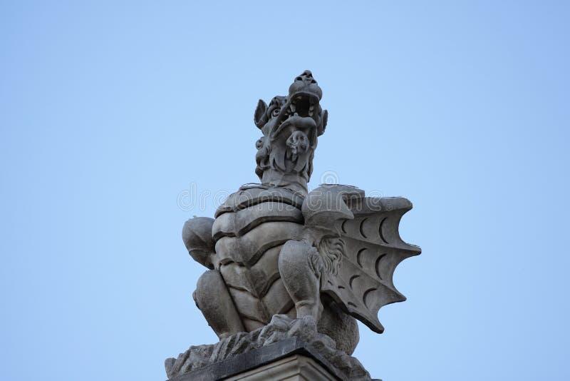 buri chon smoka Sian statuy świątynia Thailand obrazy stock