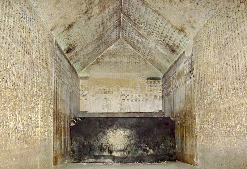 Burial-chamber of Unis royalty free stock photography
