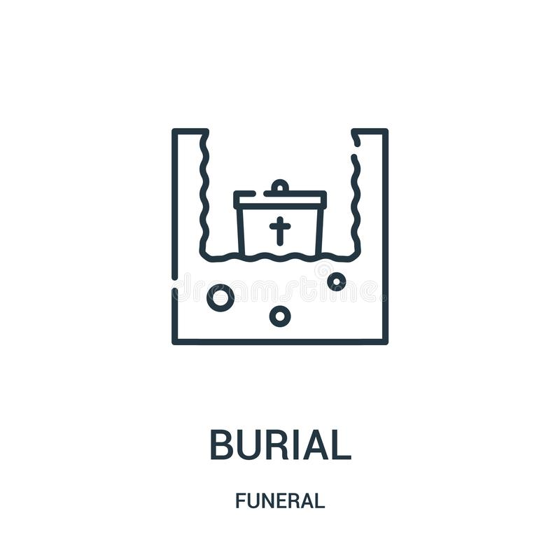 Bible Icon Vector From Funeral Collection  Thin Line Bible