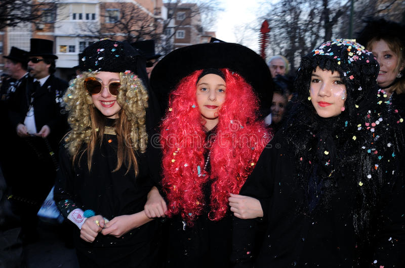 Download BURIAL OF THE SARDINE Carnival. Madrid .SPAIN Editorial Photo - Image: 23208611