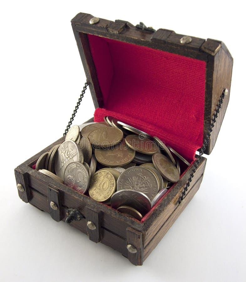 Buried treasure royalty free stock image