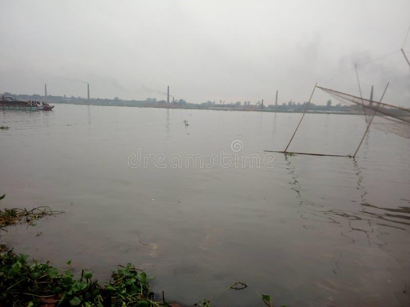 Burigonga河 免版税库存照片