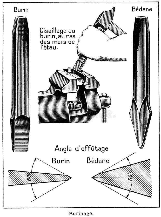 Burinage-1 Free Public Domain Cc0 Image