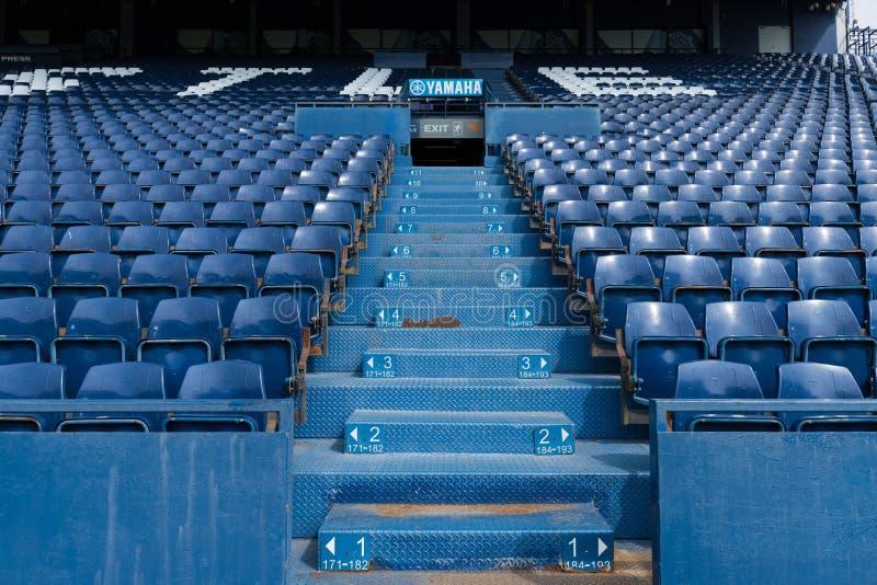 Buriram jednoczył siedzenia stadium zdjęcie stock