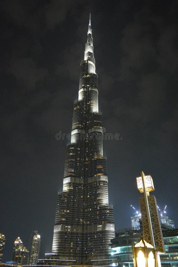 Burj哈利法迪拜, OAE 库存照片
