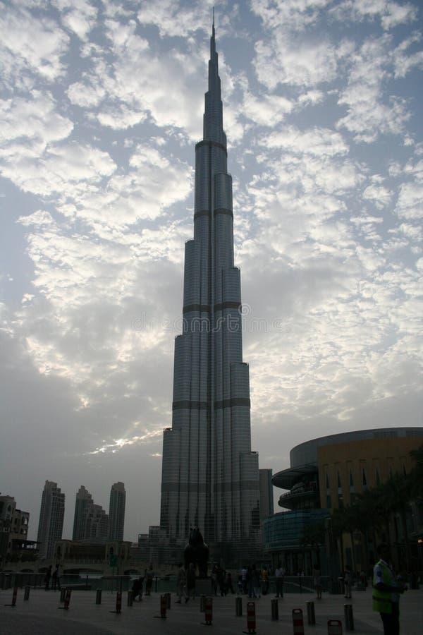 burj迪拜khalifa 免版税图库摄影