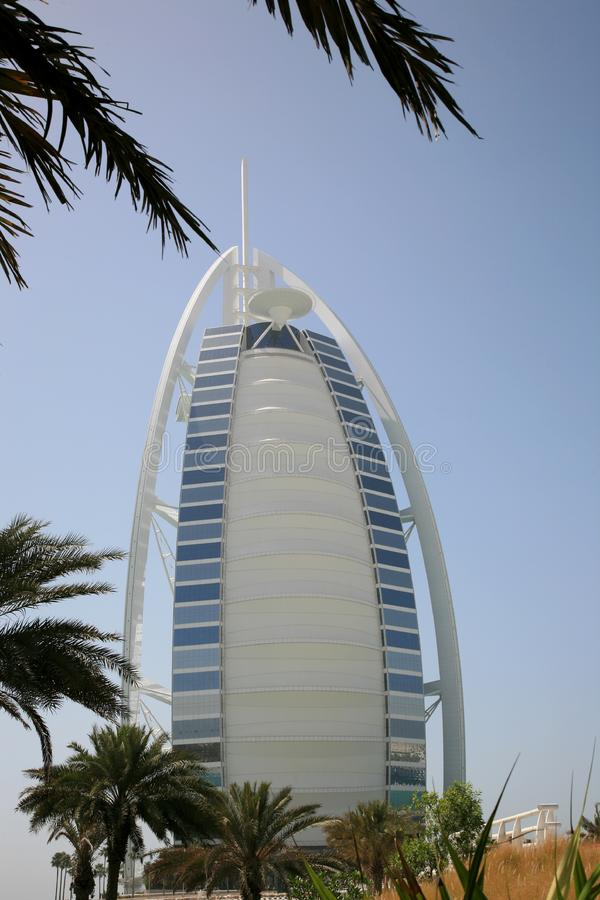 Burj阿拉伯人迪拜 库存图片