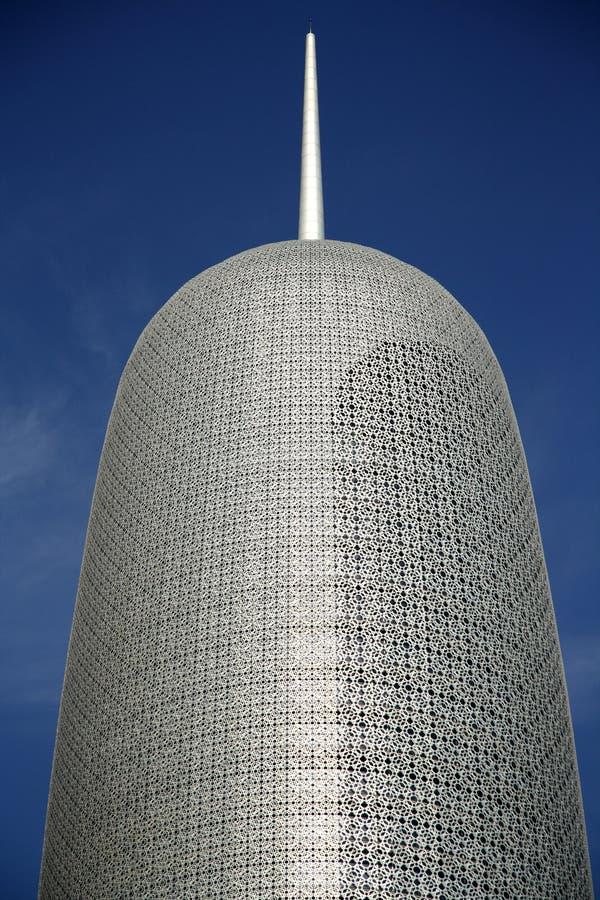 Burj Κατάρ σε Doha στοκ εικόνες