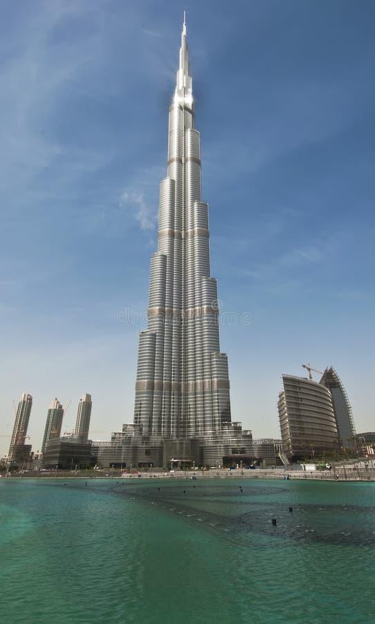burj Ντουμπάι στοκ εικόνα με δικαίωμα ελεύθερης χρήσης