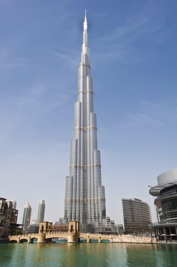 burj Ντουμπάι στοκ εικόνα