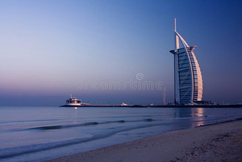 burj Дубай al арабское стоковое изображение rf