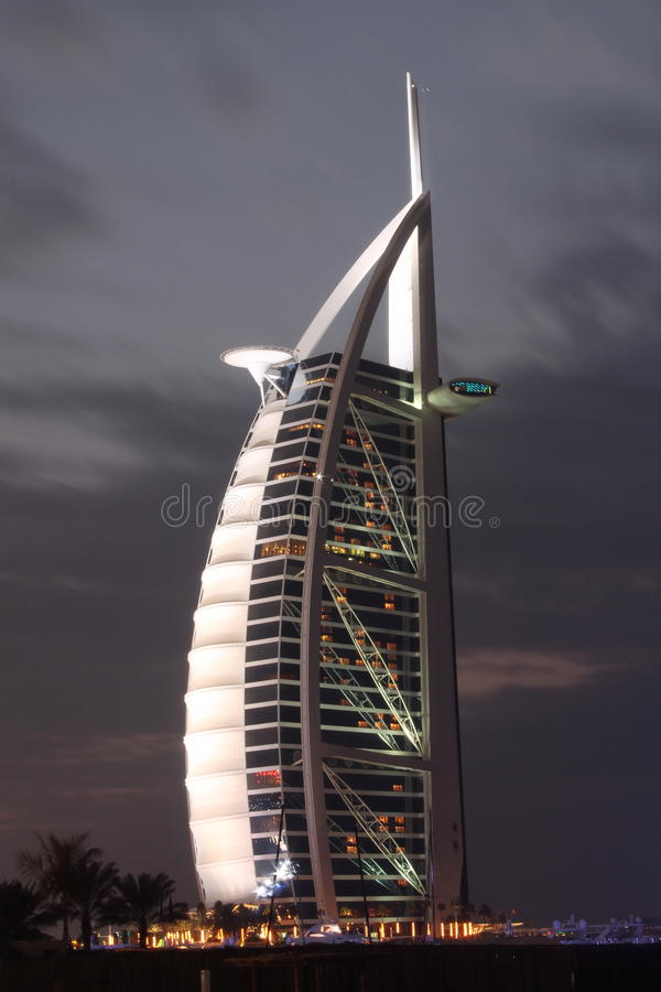 Burj Al阿拉伯人 免版税库存照片