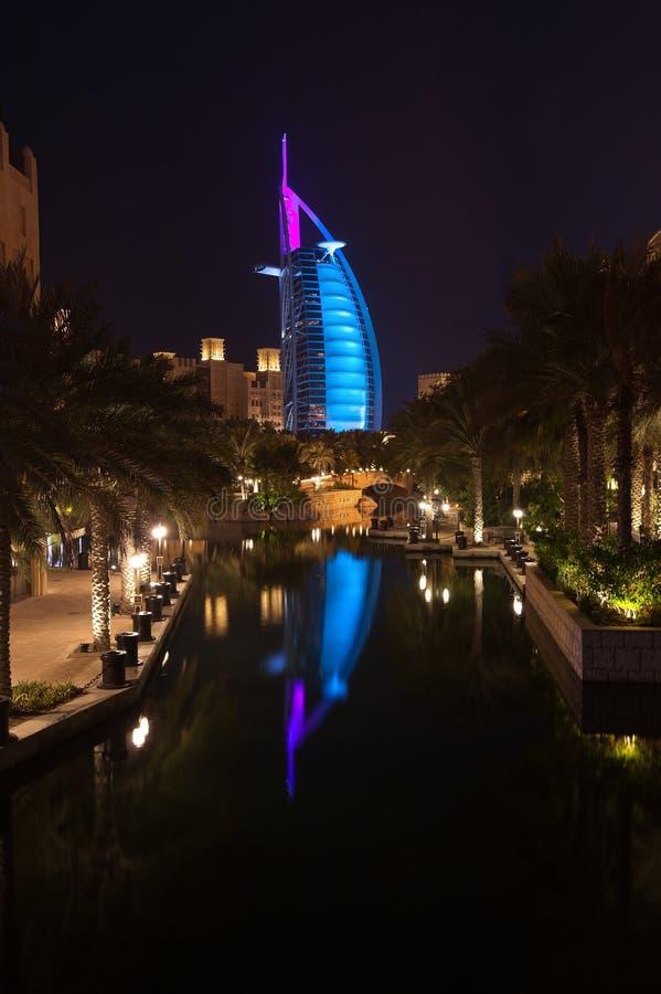 Burj-al-árabe fotografía de archivo