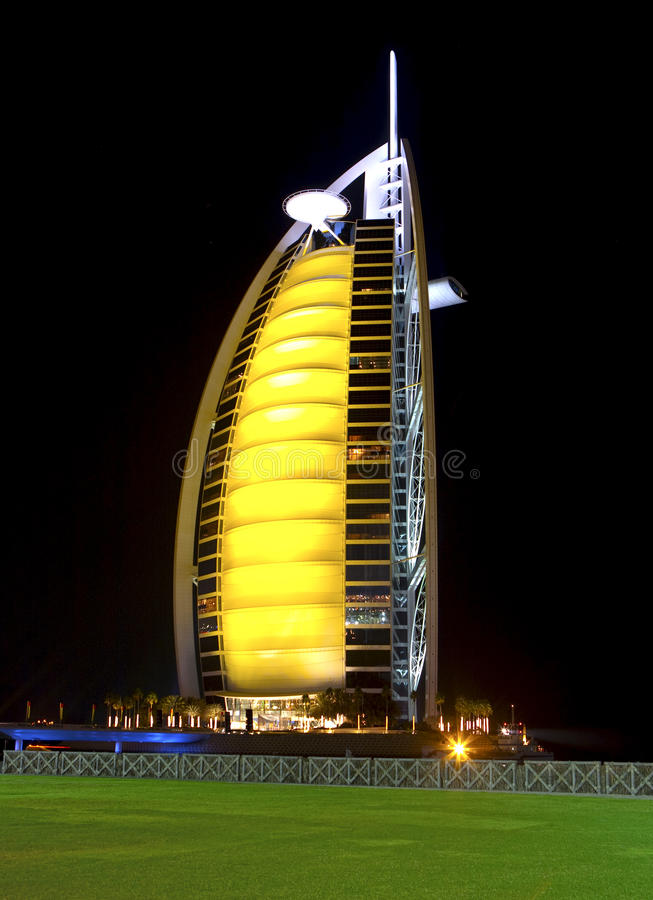 Download Burj Al Arab stock photo. Image of rest, united, middle - 17203490