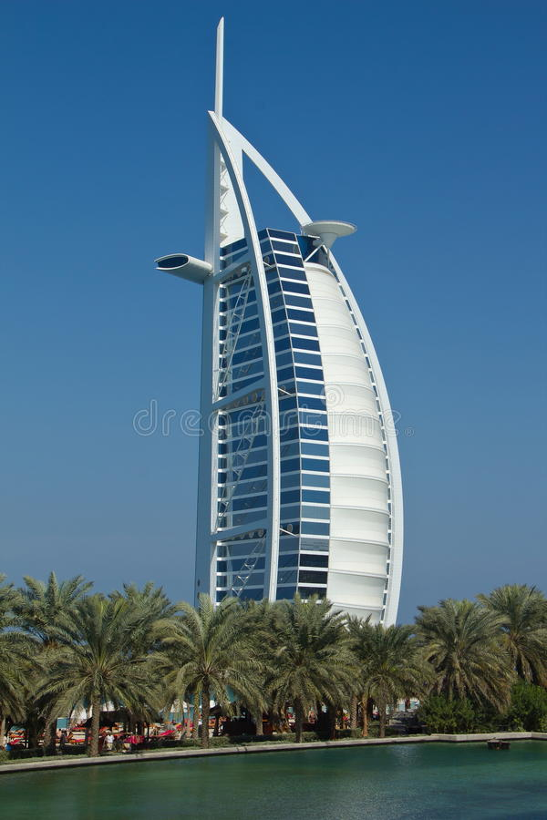 Download Burj al arab stock photo. Image of dubai, building, tour - 18052406