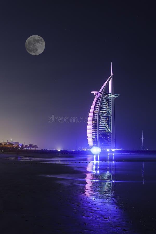 Burj Al Arab fotografie stock libere da diritti
