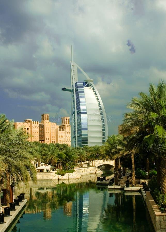 Download Burj Al Arab stock image. Image of lagoon, architecture - 7164851
