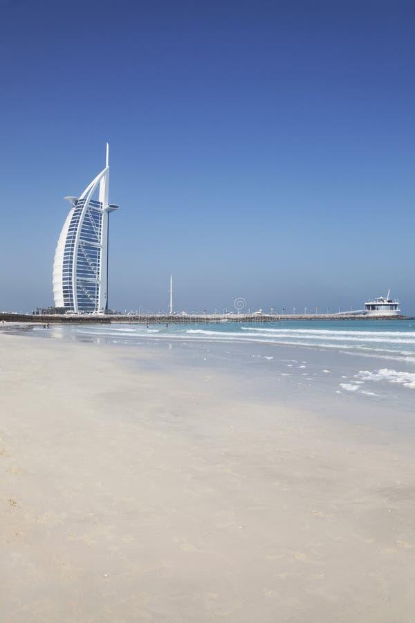 Burj Al Arab and Beach, Dubai, UAE