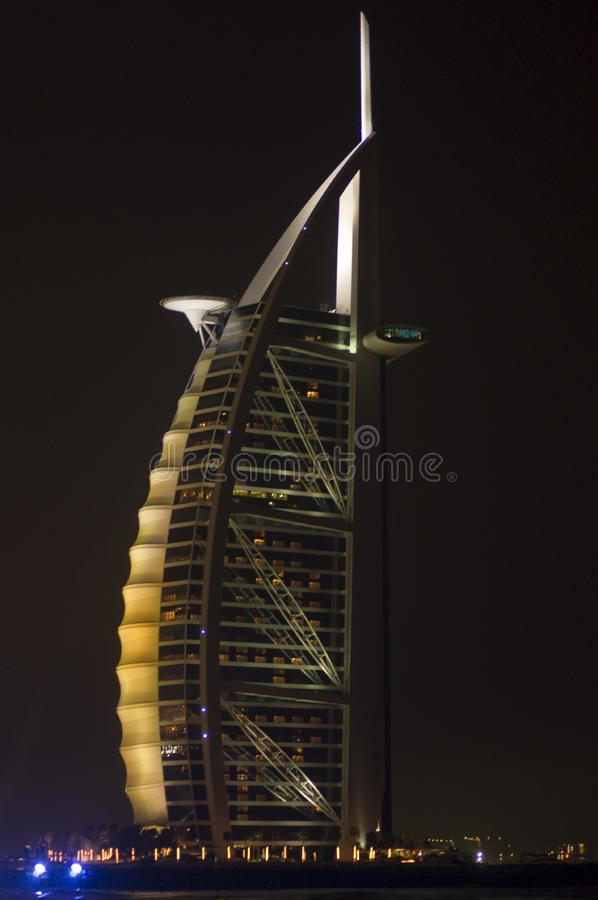Burj Al Arab Cream royalty free stock image