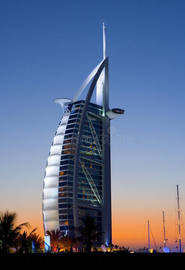 Free Burj Al Arab, Dubai Royalty Free Stock Image - 7185496