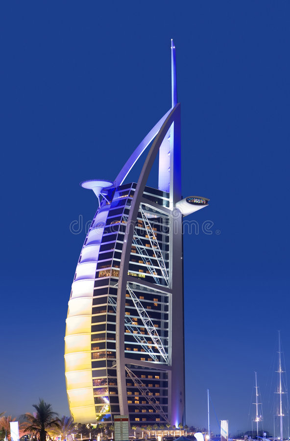 Free Burj Al Arab, Dubai Royalty Free Stock Photography - 7850297