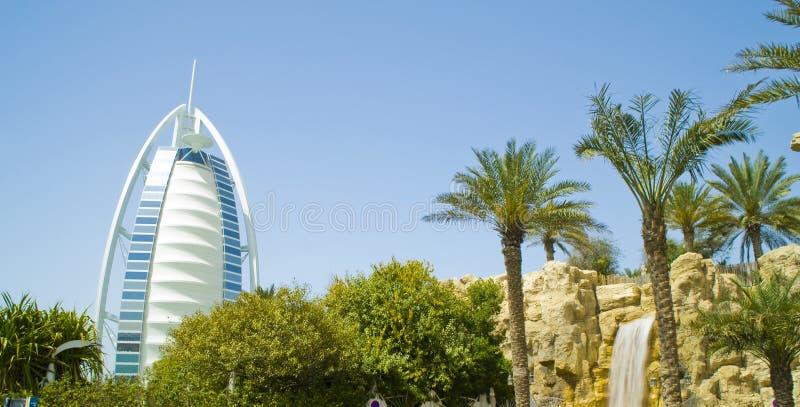 Burj al arab dubai stock images