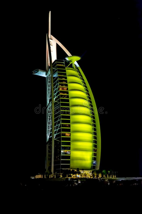 Burj Al Arab Dubai UAE stock photos