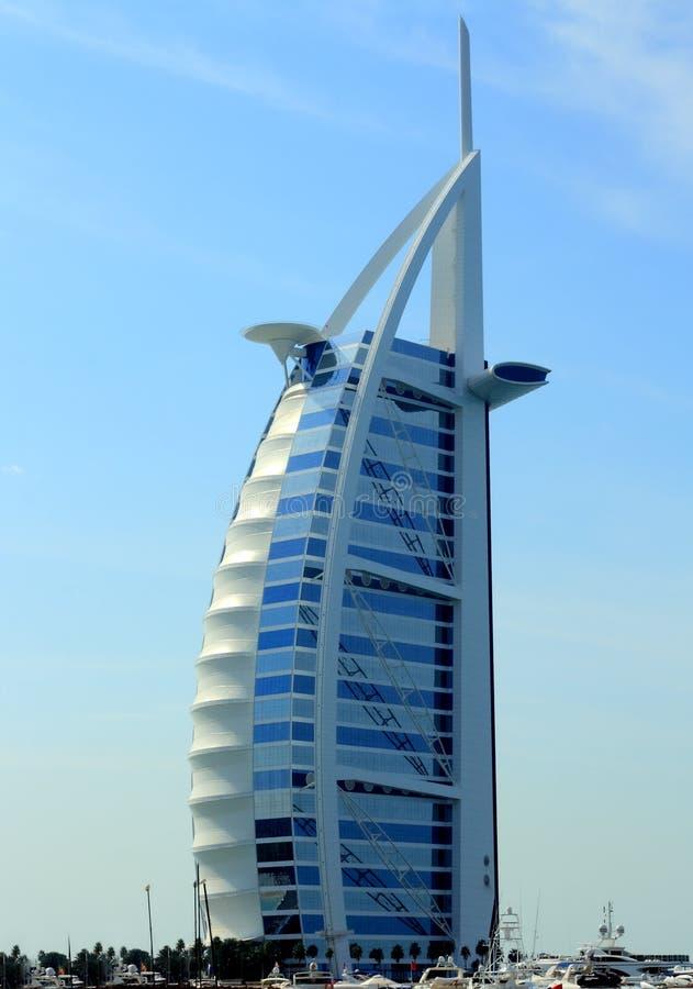 Burj Al Arab hotel Dubai royalty free stock photo