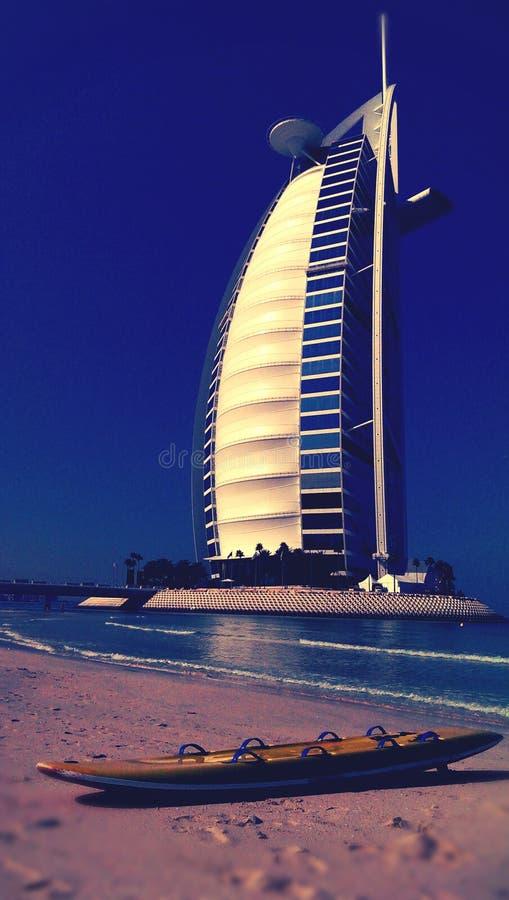 Burj Al Arab hotel, Dubai stock images
