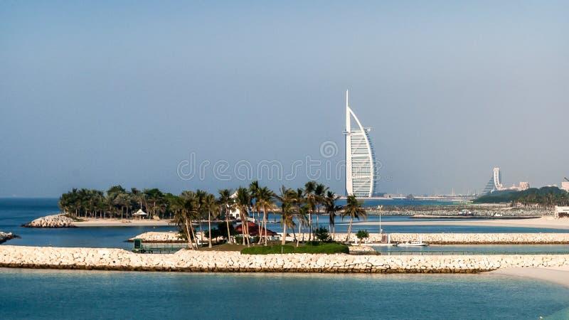 Burj Al Arab Hotel in Dubai, UAE. stock image
