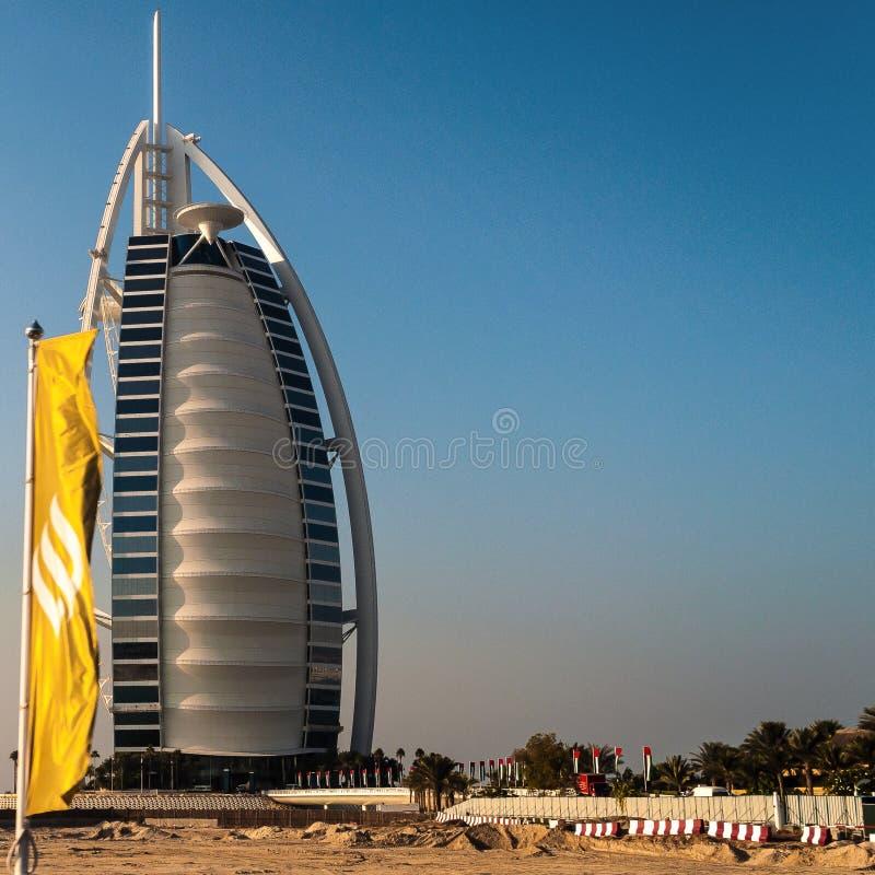 Burj Al Arab Hotel in Dubai, UAE. stock photography